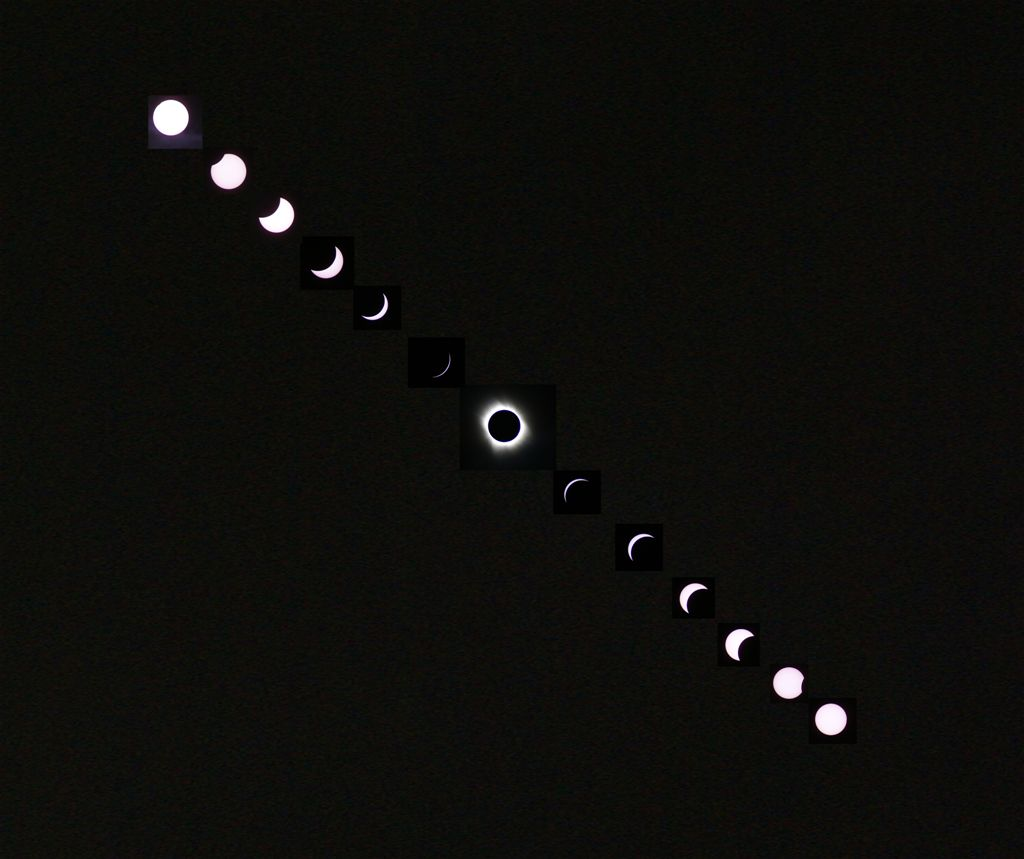 Solar Eclipses Imaged From Weymouth Dorset